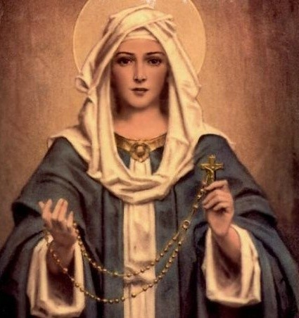 Mary Treasured! Mary Pondered!  Mary Stored Up!                                                  A Reflection On Mary For The Month Of The Rosary By Fr. Peter Clarke, O.P.