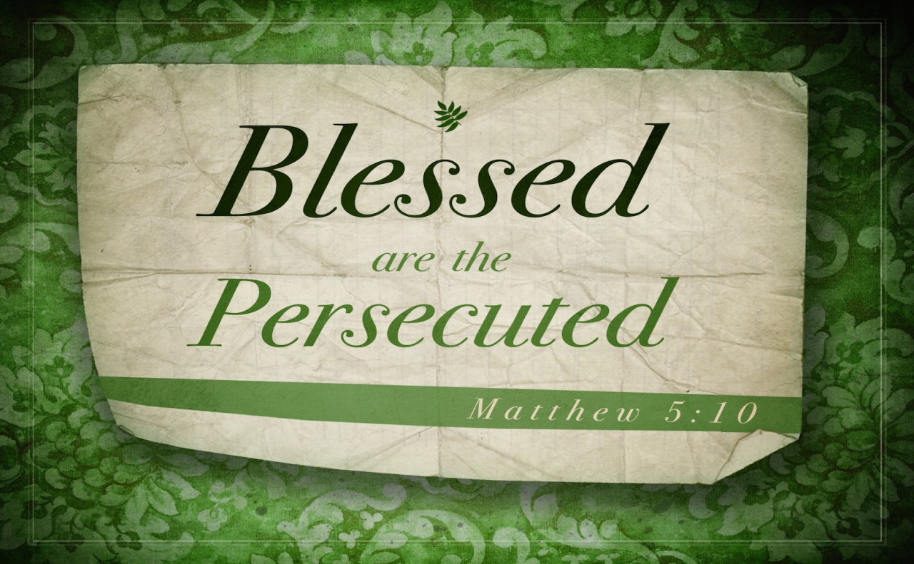 Turning Persecution into Blessings: A Reflection by Fr. Michael Barrow, S.J.