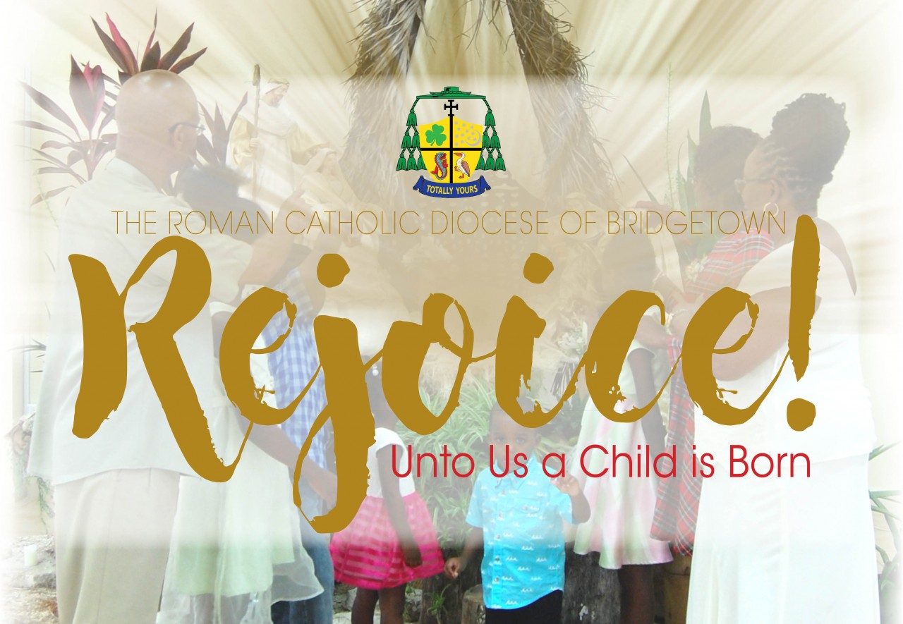 Rejoice!  Unto Us A Child Is Born: RC Diocese Christmas Magazine